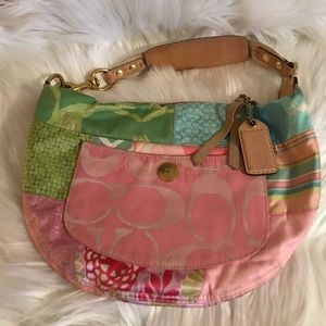 Authentic Coach Small Hobo Bag